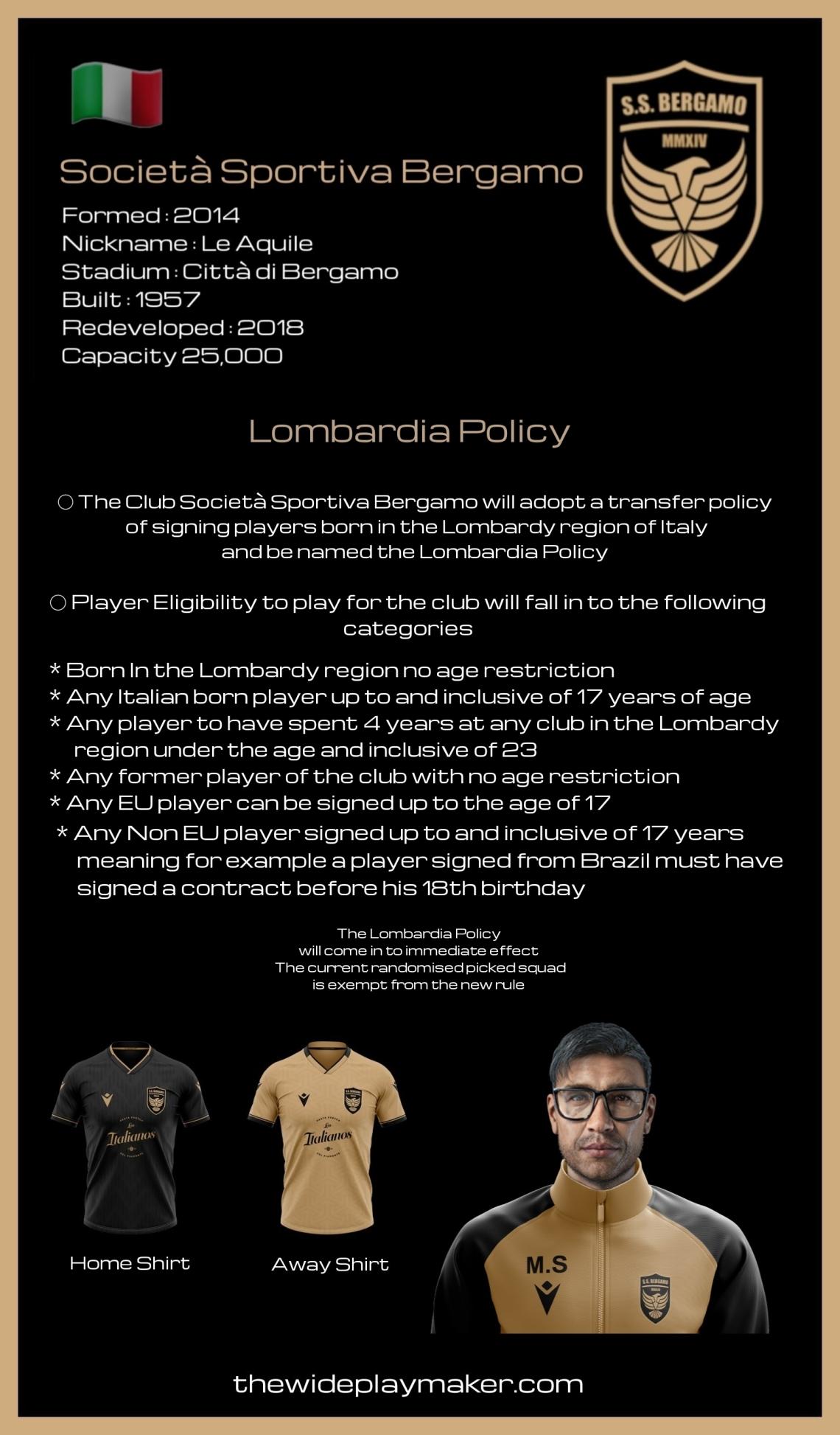 Lombardia policy